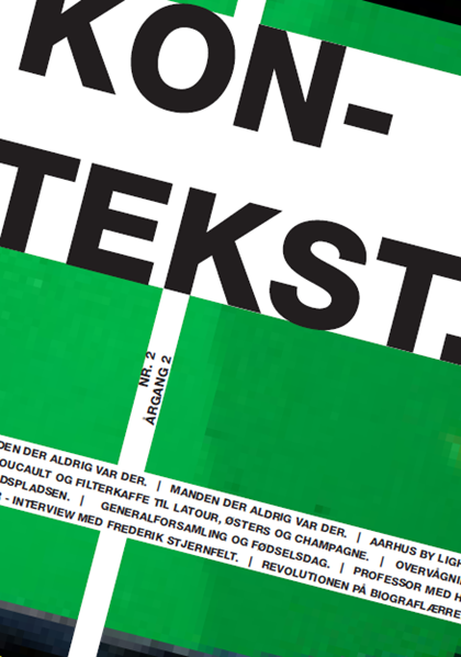 Cover of Kontekst #6